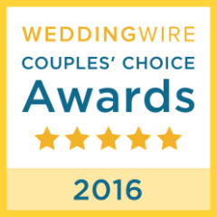 WeddingWire Couples' Choice Awards 5 stars 2016