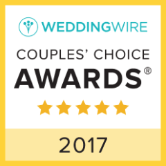 WeddingWire Couples' Choice Awards 5 stars 2017